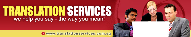 Translation Services Singapore | Translation Services